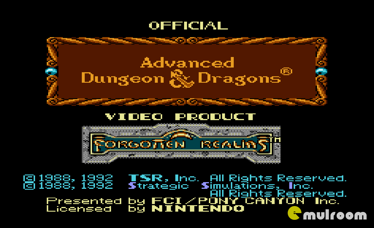 Advanced Dungeons & Dragons — Hillsfar,  денди игры, nes