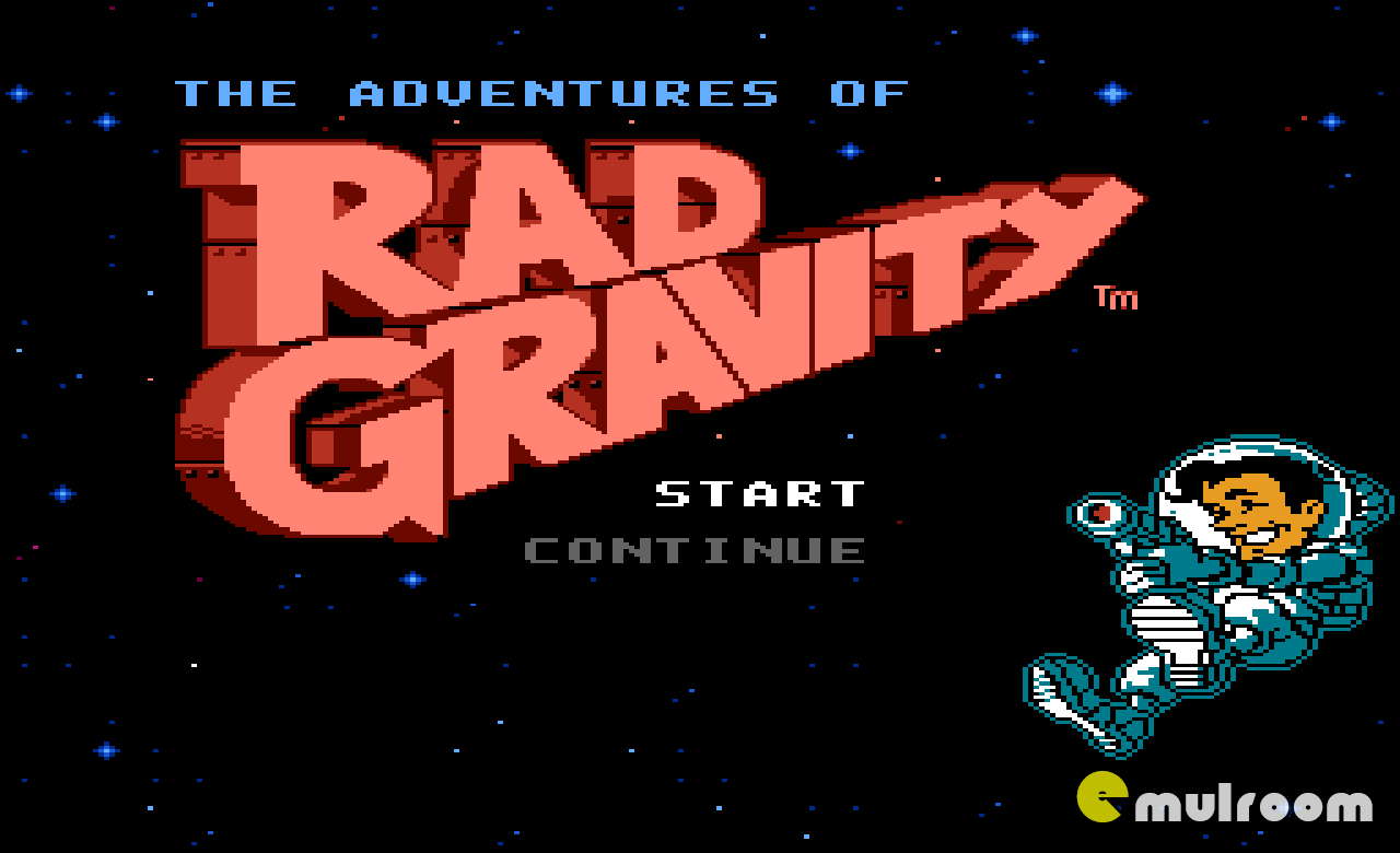 Adventures of Rad Gravity, Приключения Рада Гравити денди игры, nes