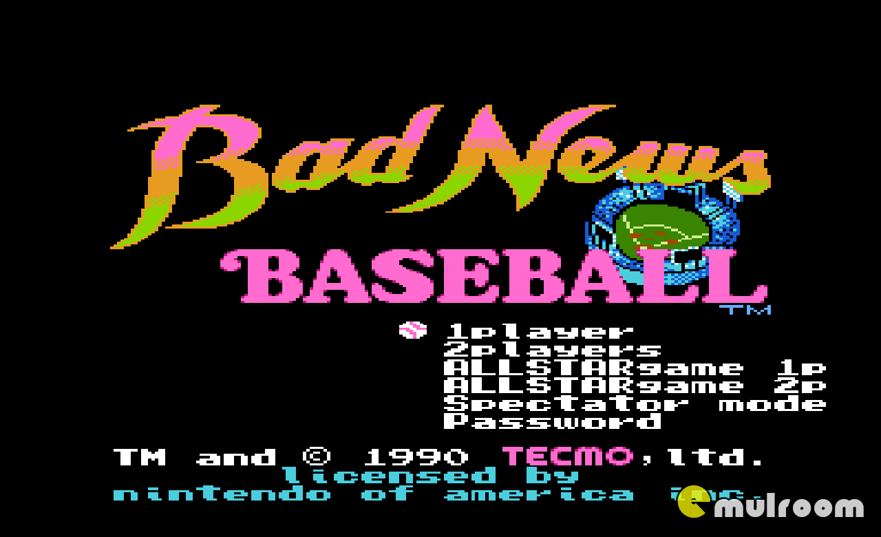 Bad News Baseball,  денди игры, nes