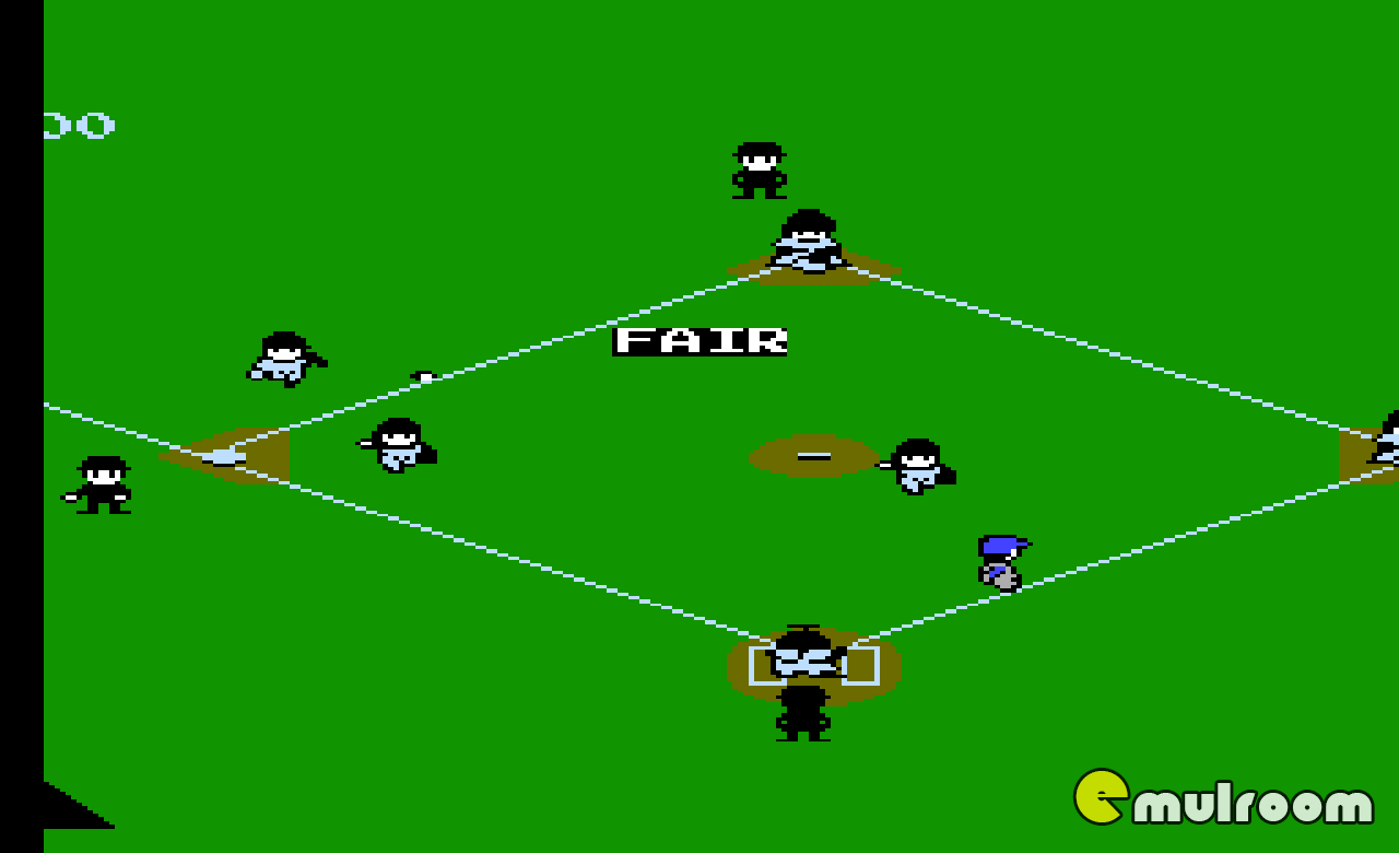 Baseball Simulator 1, Симулятор бейсбола денди игры, nes