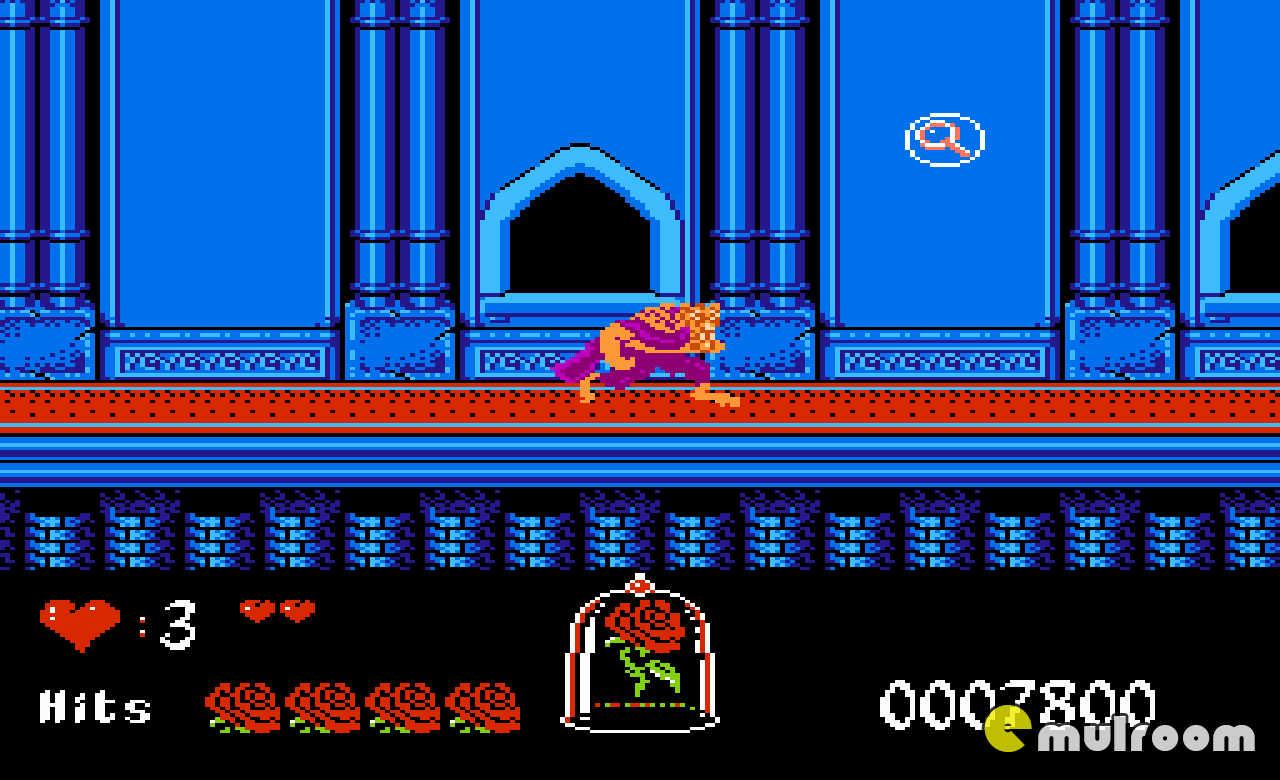 Beauty and the Beast, Красавица и Чудовище денди игры, nes