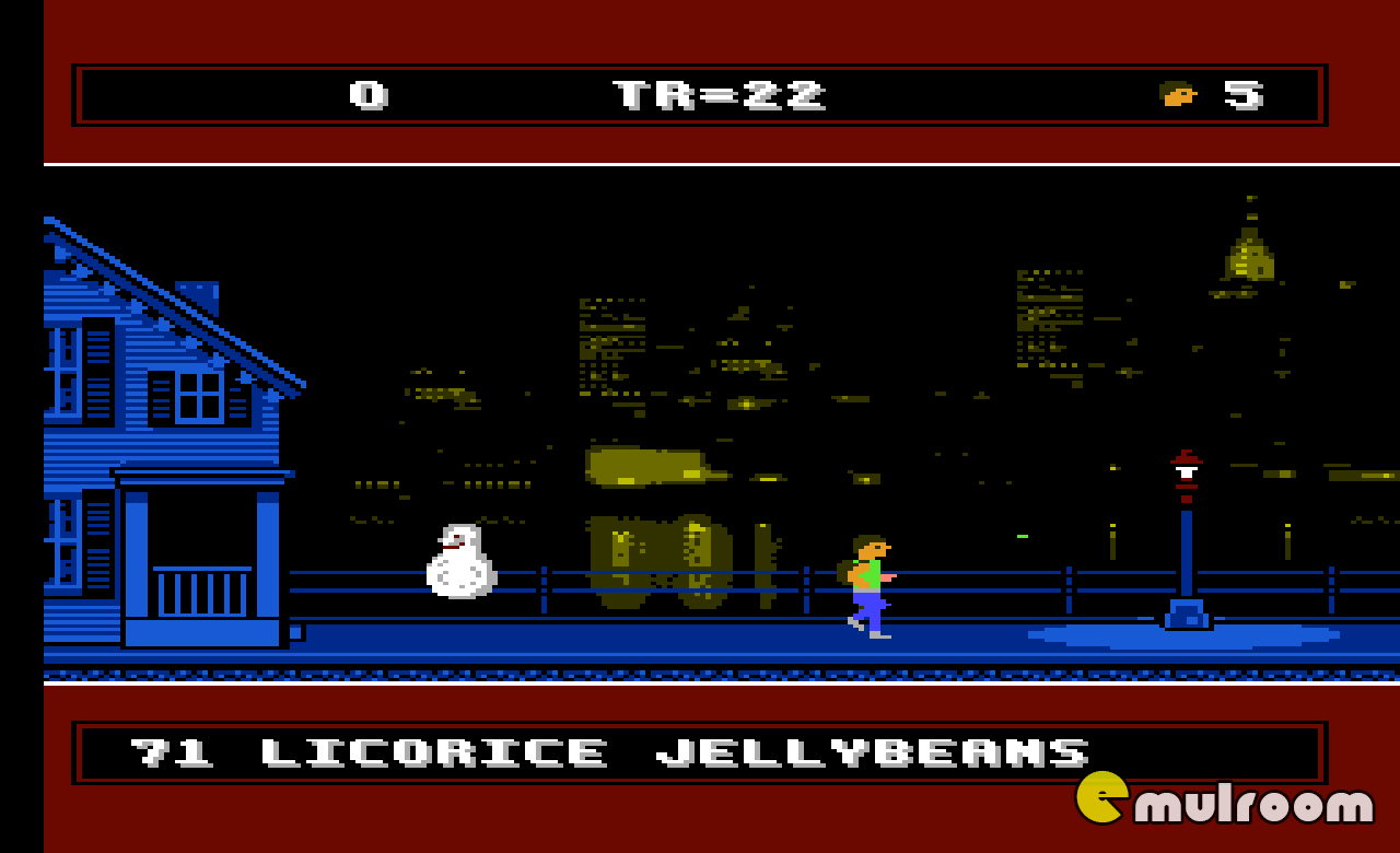 Boy and His Blob — Trouble on Blobolonia,  денди игры, nes
