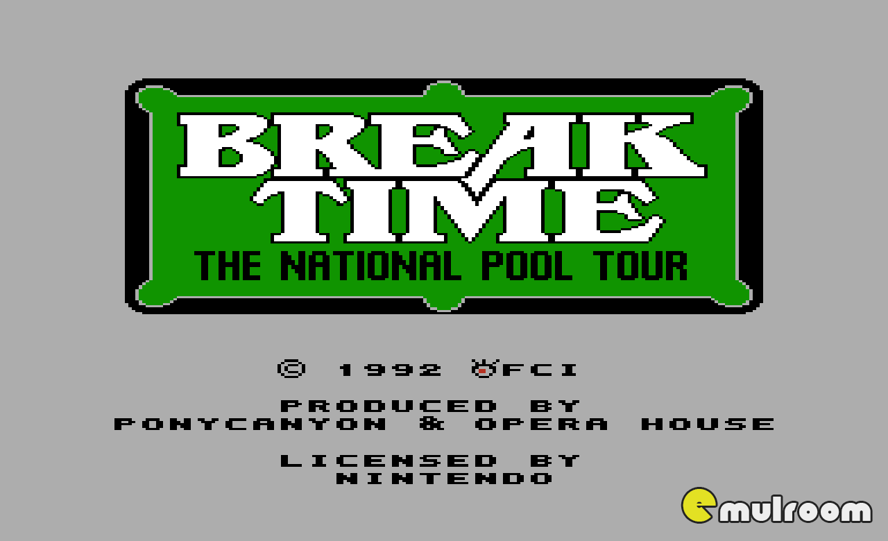 Break Time,  денди игры, nes