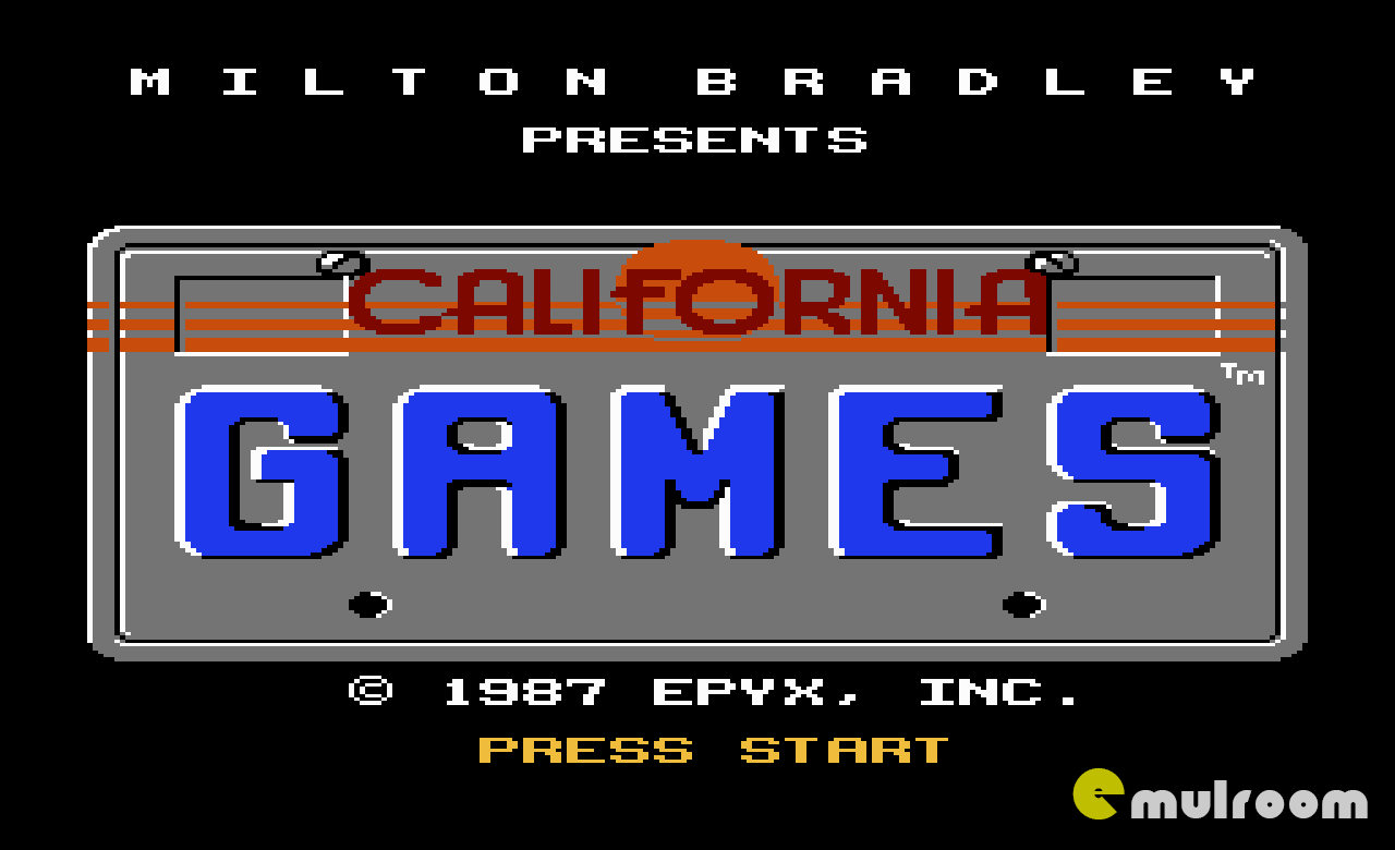 California Games, Калифорнийские игры денди игры, nes