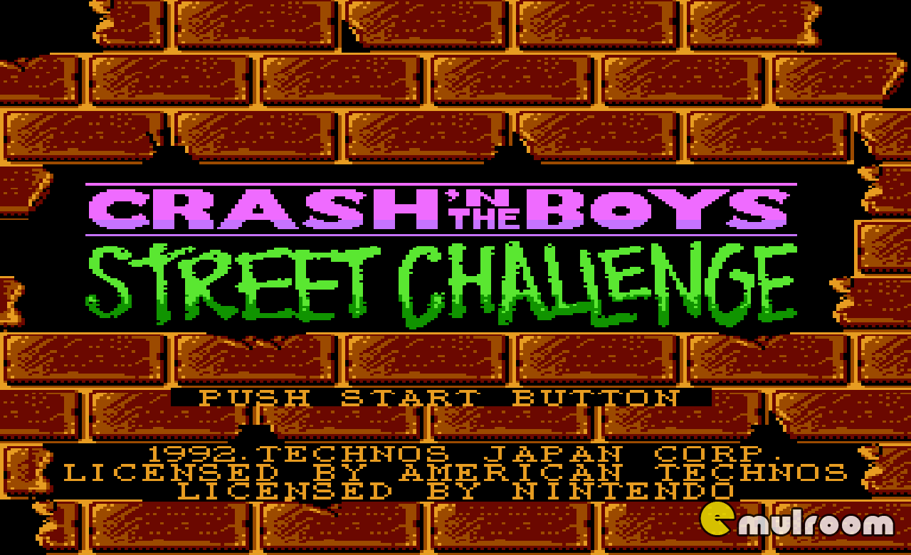 Crash`n The Boys Street Challenge,  денди игры, nes