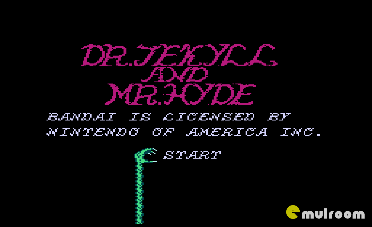 Dr Jekyll and Mr Hyde, Доктор Джекилл и Мистер Хайд денди игры, nes