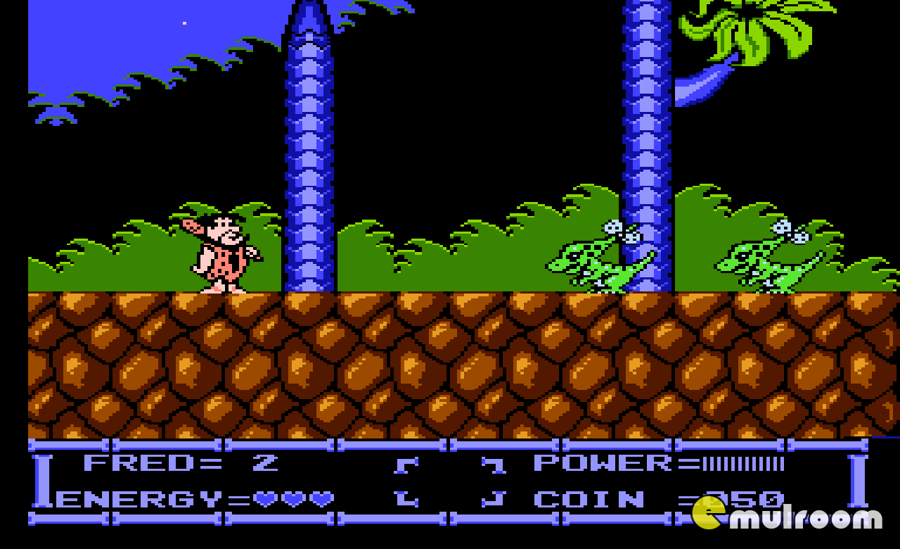 Flintstones — The Rescue of Dino and Hoppy, Флинстоуны Спасение Дино и Хоппи денди игры, nes