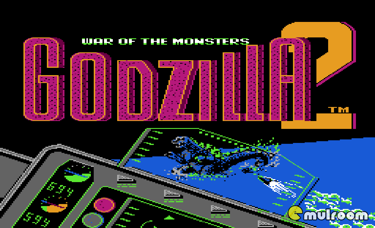 Godzilla 2: War of the Monsters, Годзилла 2: Война Монстров денди игры, nes