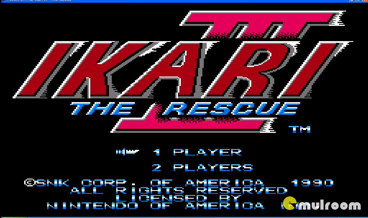 Ikari Warriors: The Rescue, Воины Икари: Спасение денди игры, nes