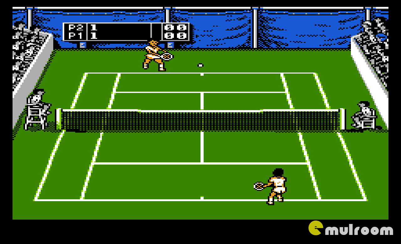 Jimmy Connors Tennis, Теннис Джимми Коннорса денди игры, nes