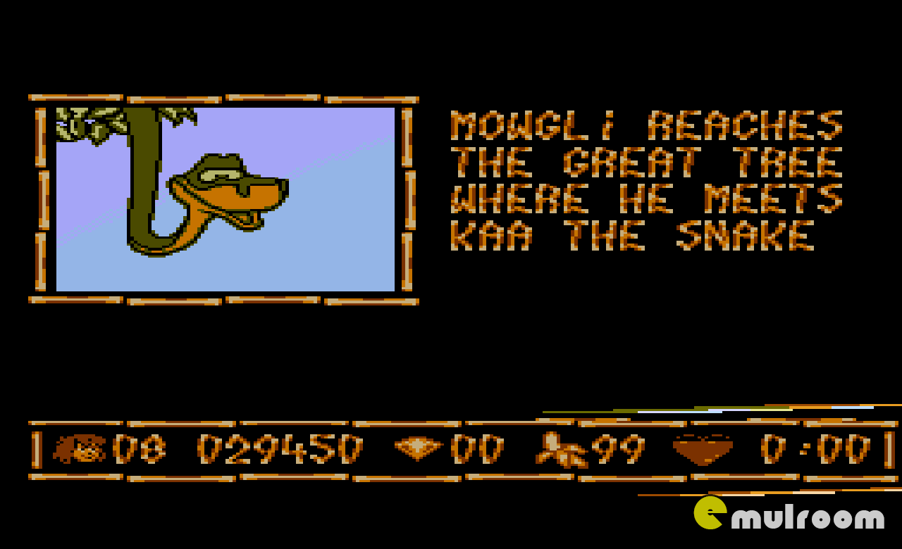 Jungle Book, Книга Джунглей денди игры, nes