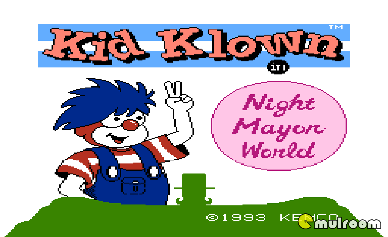 Kid Klown in Night Mayor World, Микки Маус денди игры, nes