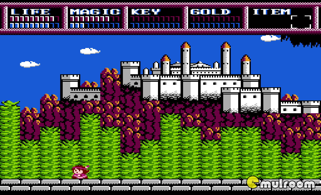 Legacy of the Wizard (Dragon Slayer IV: Drasle Family), Наследие Мастера денди игры, nes