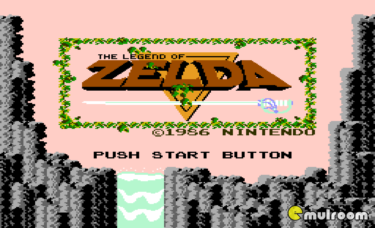 Legend of Zelda, Легенда о Зелде денди игры, nes