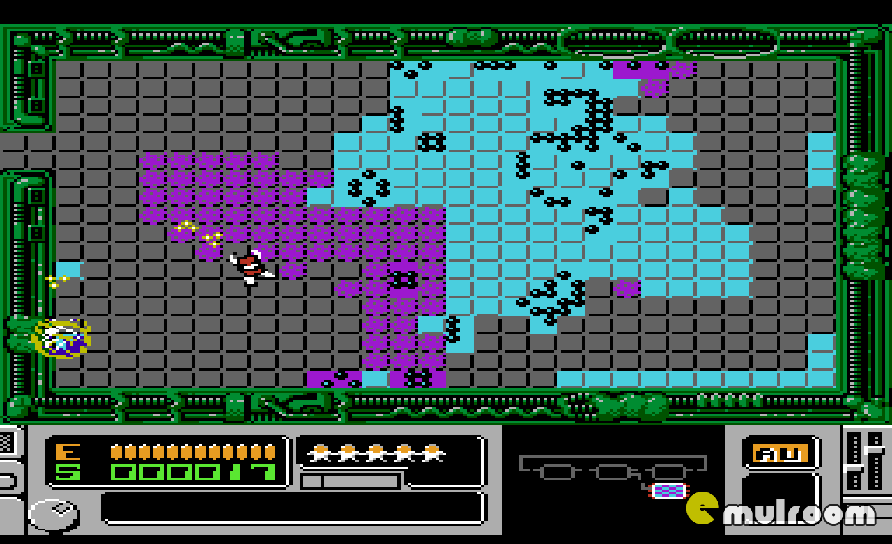 Mutant Virus: Crisis in a Computer World,  денди игры, nes