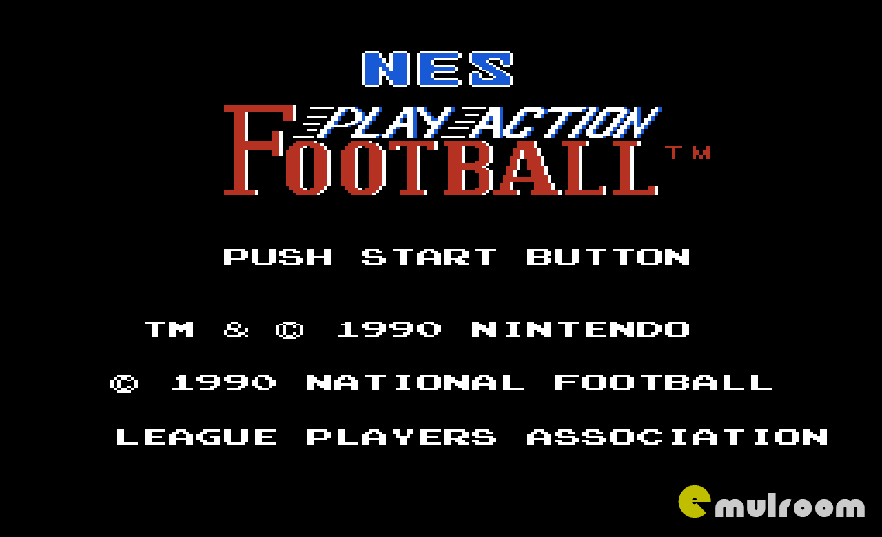 NES Play Action Football, Американский Футбол денди игры, nes