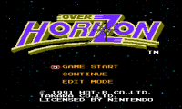 Over Horizon, За Горизонтом денди игры, nes