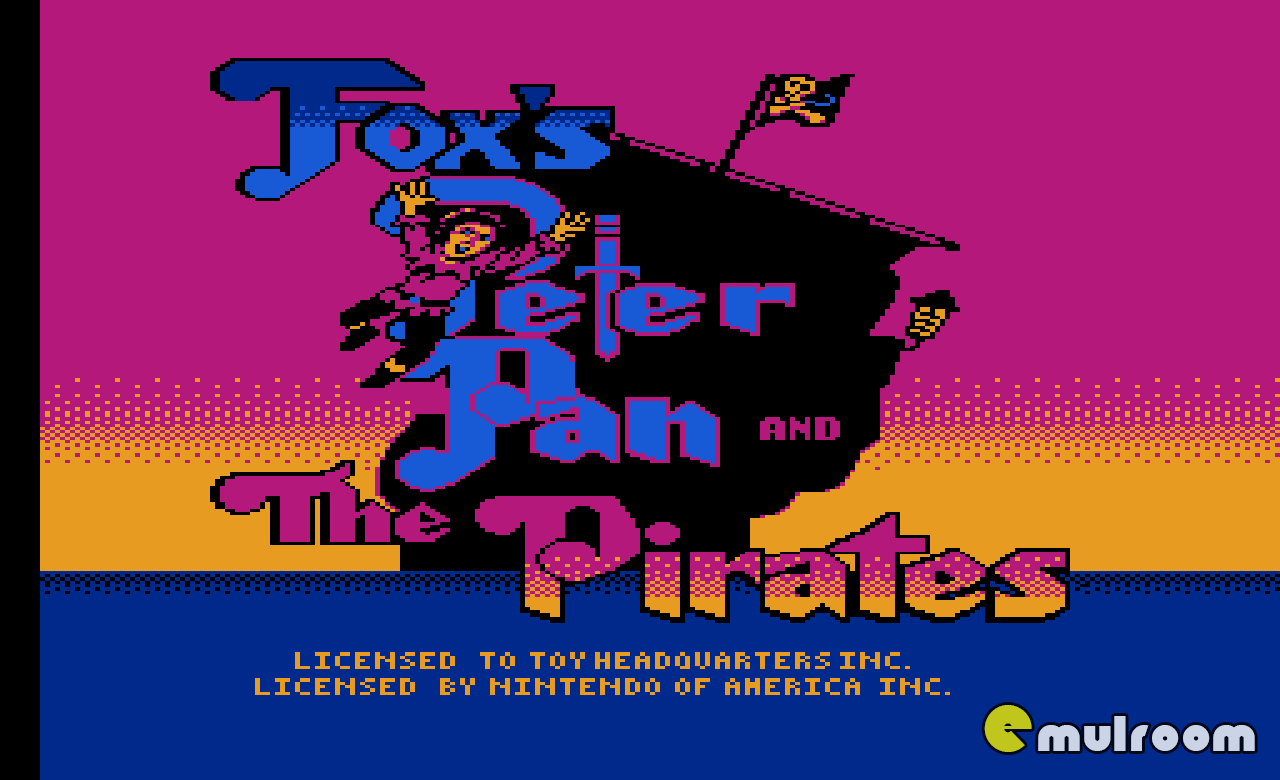 Peter Pan and the Pirates, Питер Пэн и Пираты денди игры, nes