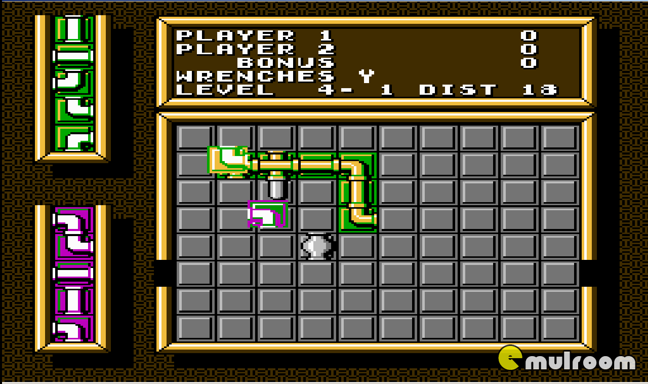 Pipe Mania (Dream),  денди игры, nes