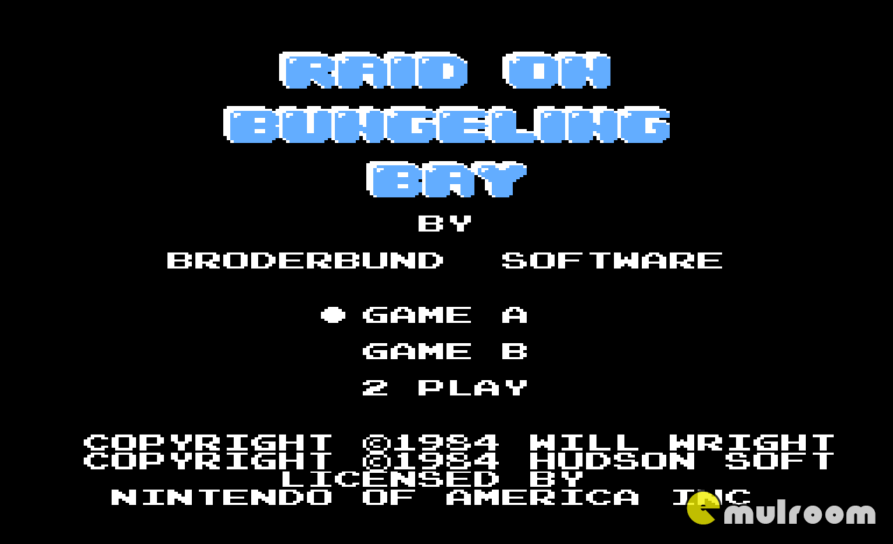Raid on Bungeling Bay, Рейд на Бухту Банджелинг денди игры, nes