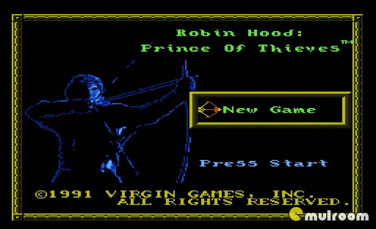 Robin Hood: Prince of Thieves, Робин Гуд: Принц Воров денди игры, nes