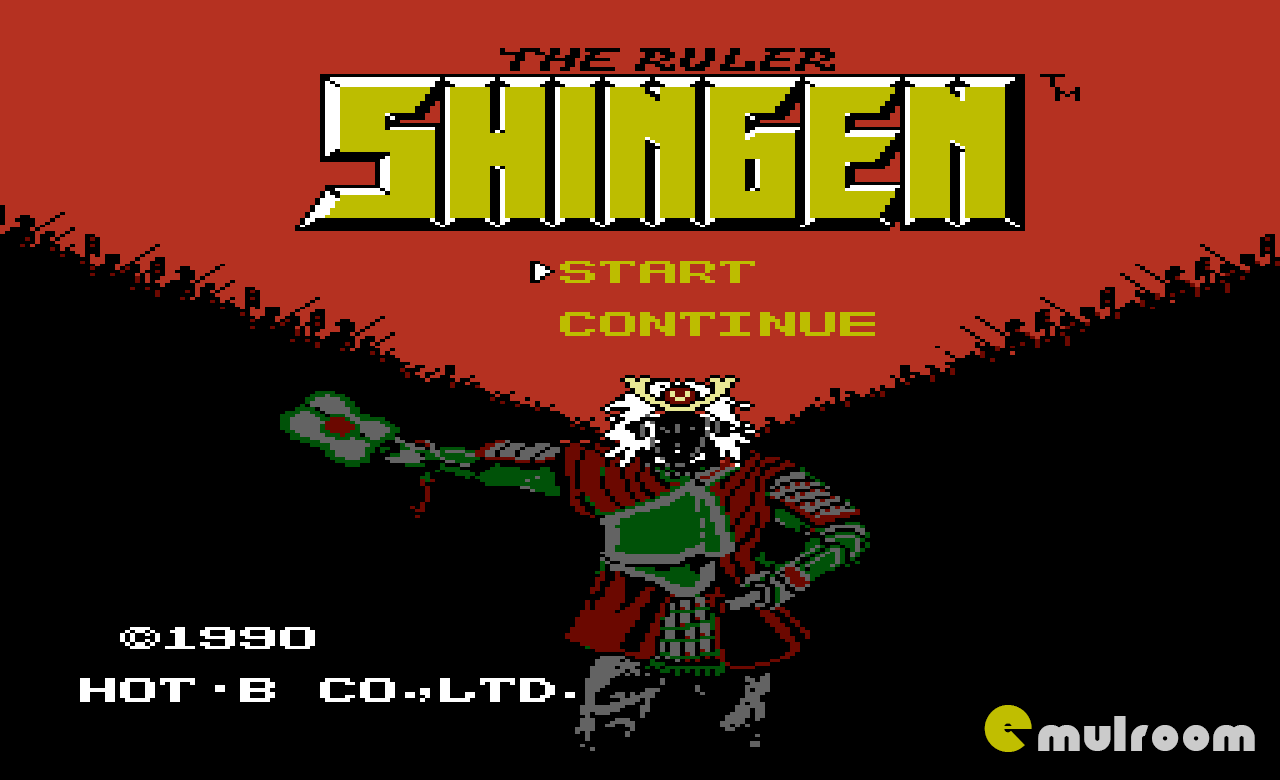 Shingen the Ruler,  Владыка Сингэна денди игры, nes