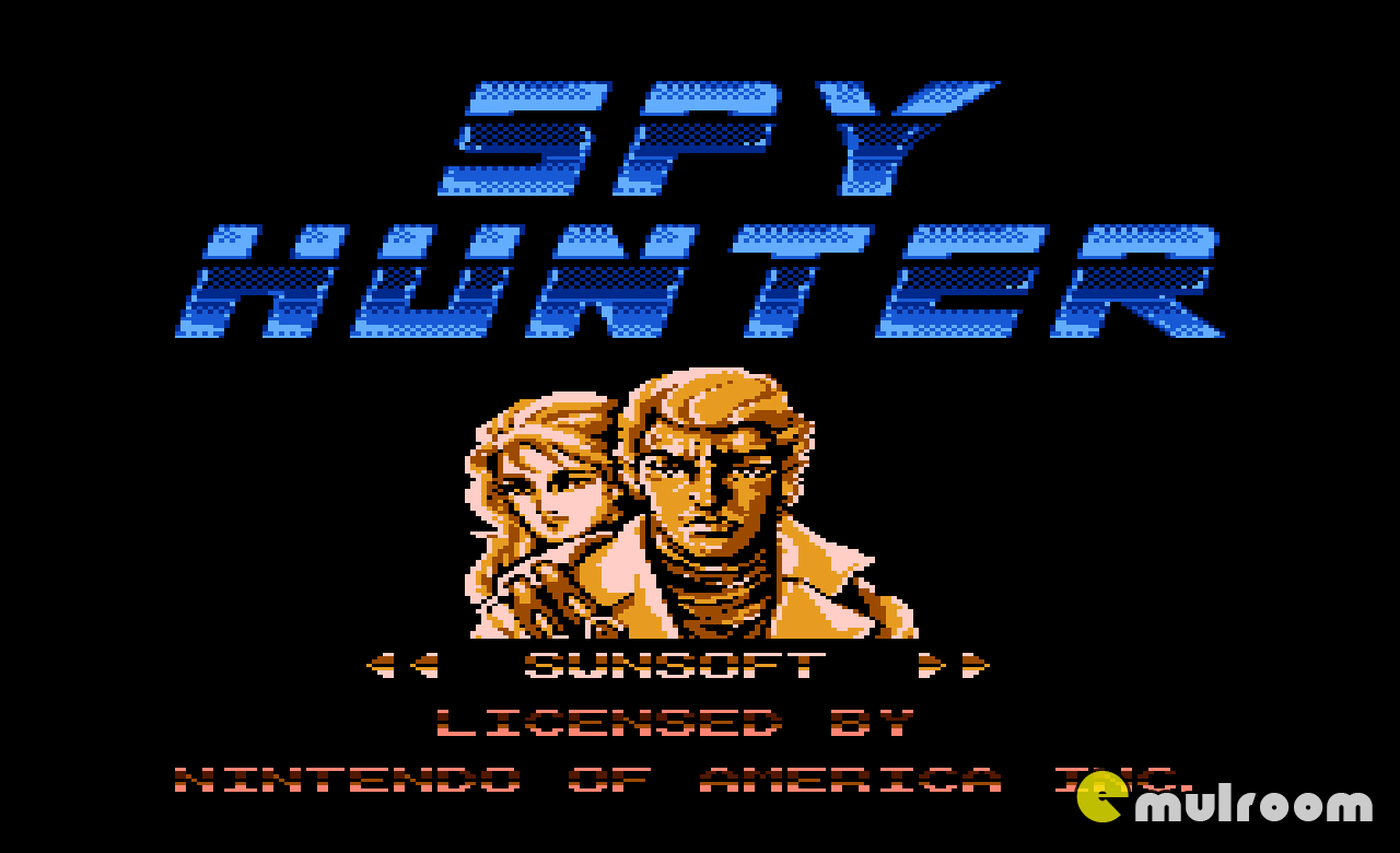 Spy Hunter,  денди игры, nes