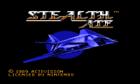 Stealth ATF, Стелс-Штурмовик денди игры, nes