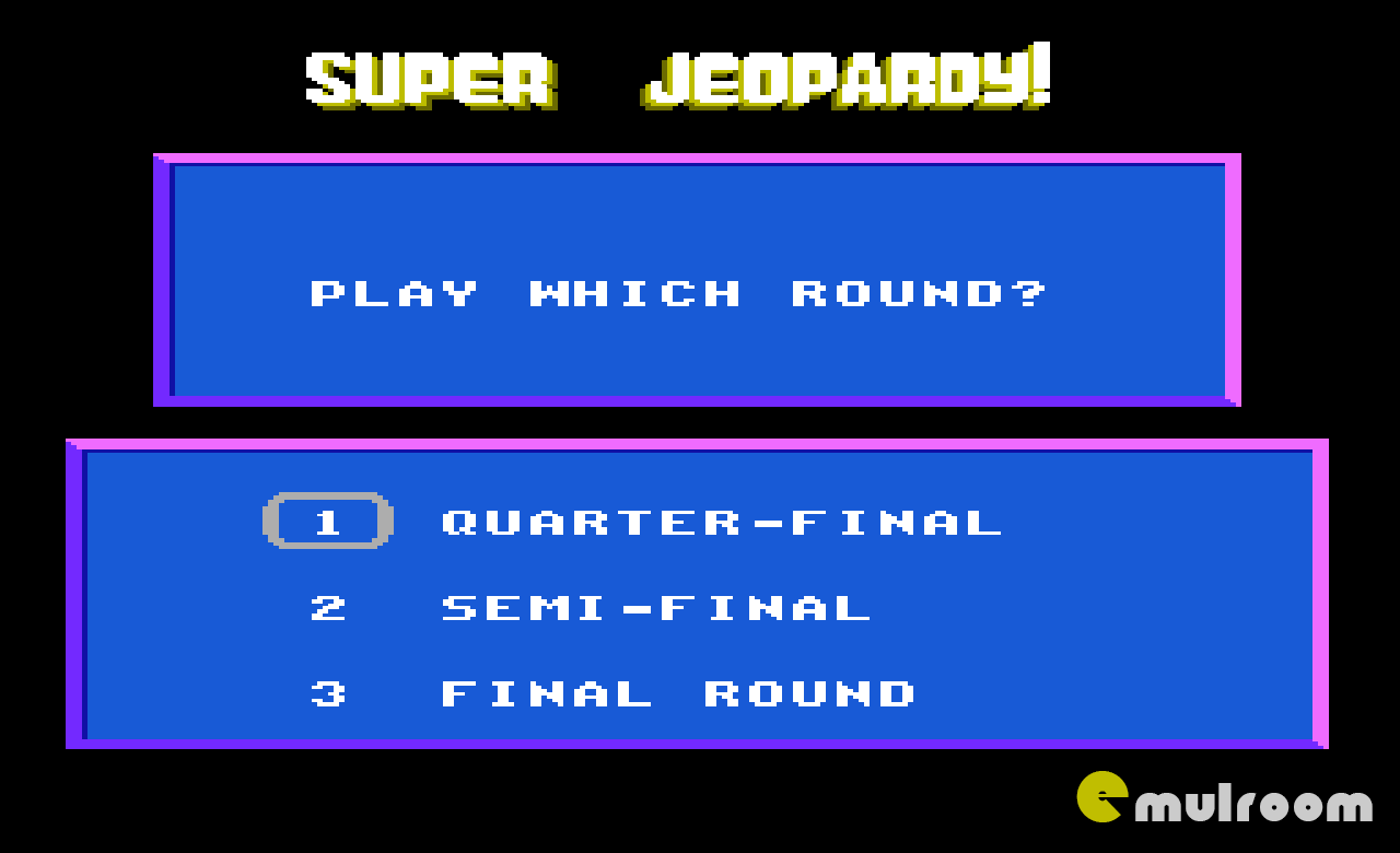 Super Jeopardy, Супер Своя Игра денди игры, nes