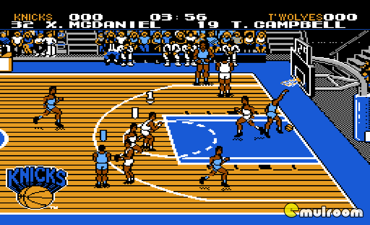 Tecmo NBA Basketball, Баскетбол НБА денди игры, nes