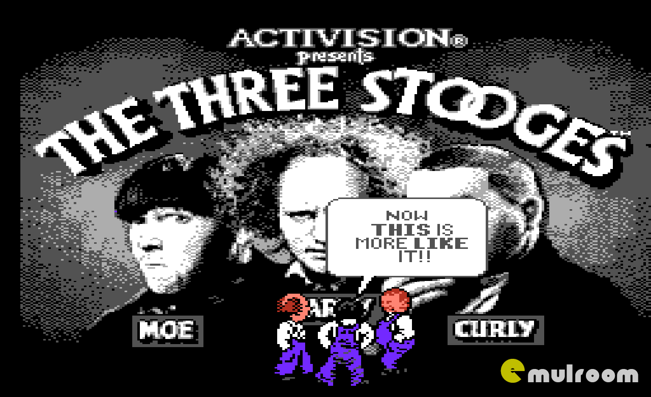 The Three Stooges, Три Марионетки денди игры, nes